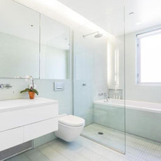 Bathroom Glass partitions